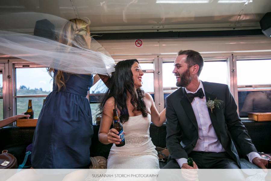 golden-colorado-wedding-bus-ride